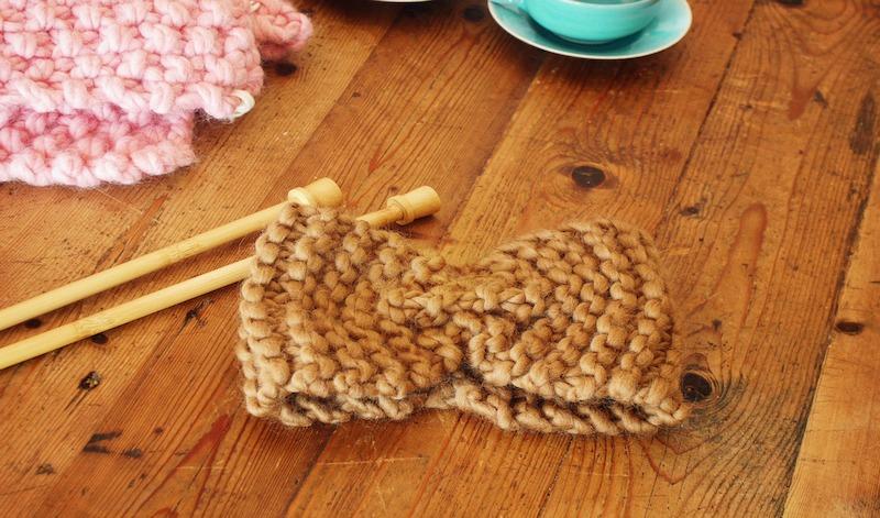 Apprendre à tricoter: comment?
