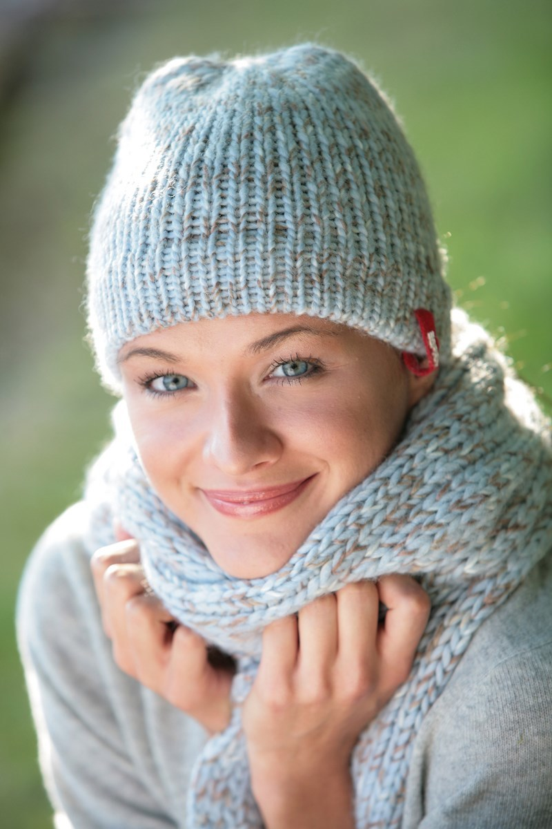 apprendre a tricoter echarpe bebe
